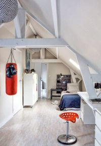 12 Ideas For Attic Kids' Rooms | Attic rooms, Attic and Teen