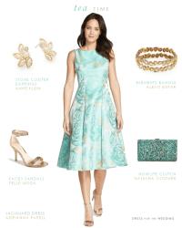 Tea Length or Midi Length Dresses for Weddings | Tea ...