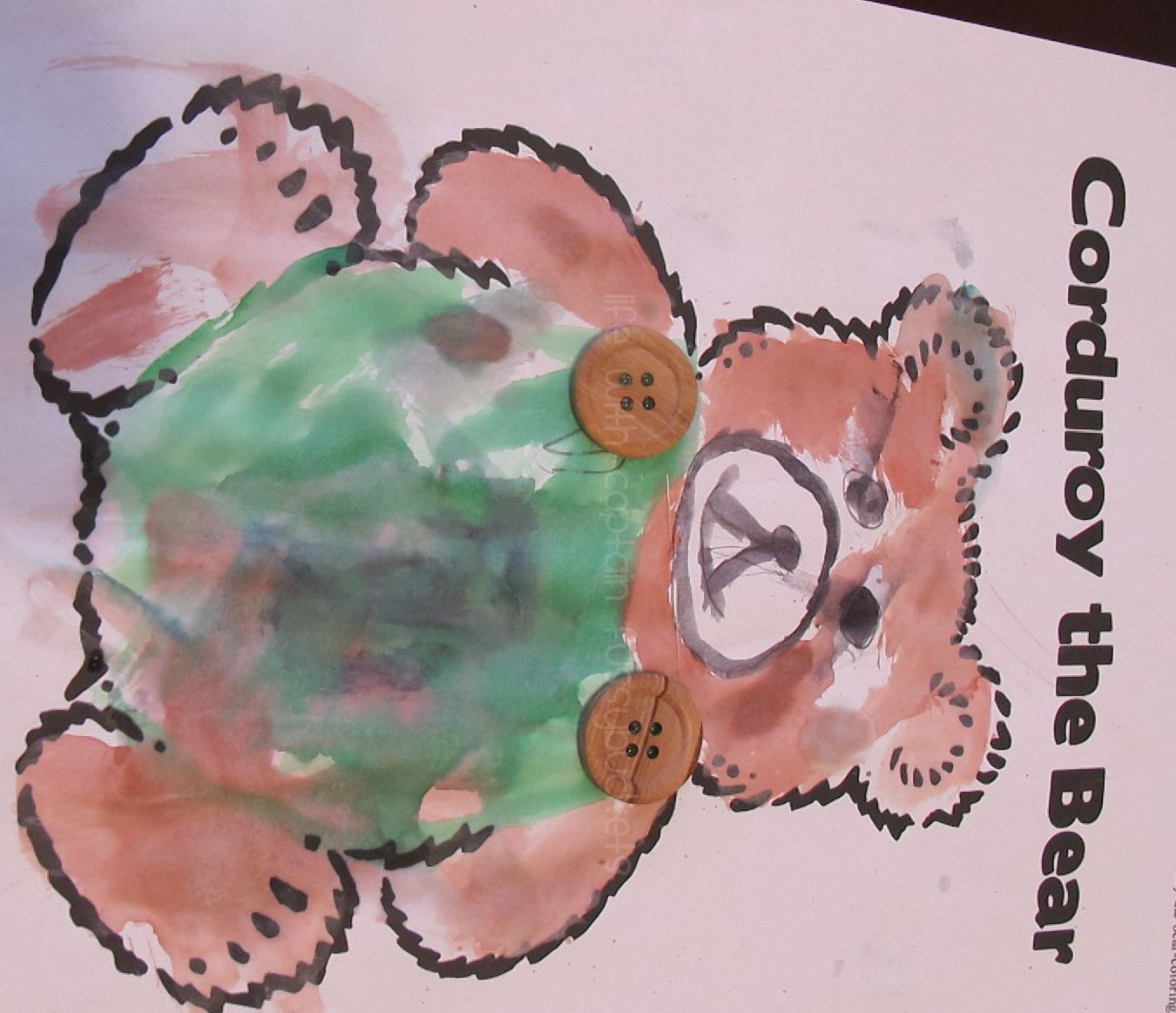 Corduroy The Bear Craft