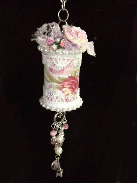 Altered Shabby Chic Spool