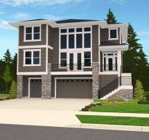 Home Plans with Garage Under House