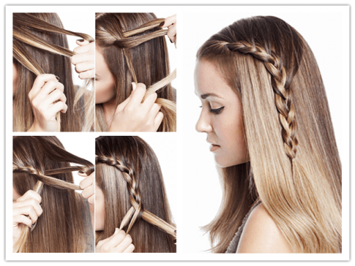 Here Is A Simple Yet Beautiful Hair Style It Works On Any Hair