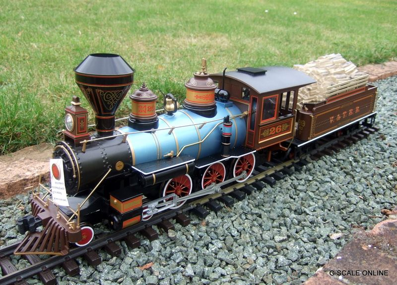 G Scale Bachmann Silverado Train