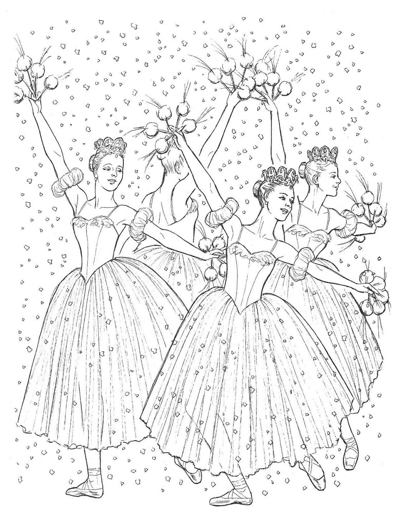 Images About Coloring Pages For Young Dancers On