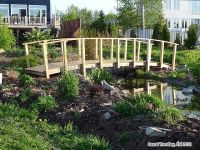 homemade bridges over creeks | build arched bridge for ...