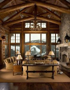 Whether you  re incorporating log trusses for their structural support or simply trying to boost your home  interior style the rocky mountain homes also selection of accessories and rh pinterest