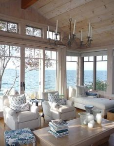 Love the windows in this beach cottage great view also best images about scandinavian style theme on pinterest rh