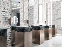 Extravagauza Interiors | Contemporary office toilet design ...