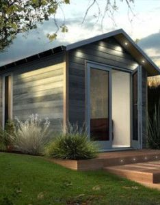 Dual office studio contemporary prefab studios by decorated shed simple home design  ideas inspirations image gallery also architecture pinterest tiny rh
