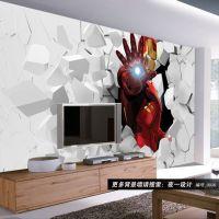 3D Iron Man Photo Wallpaper Custom Wall Murals Amazing ...