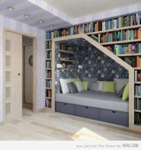 25 Creative Book Storage Ideas and Home Library Designs