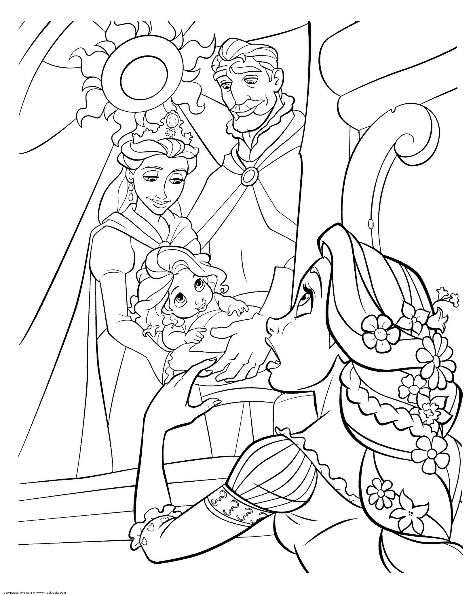 Nsfw Disney Coloring Book Rapunzel