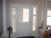 Front Door Blinds And Front Doors Creative Ideas: Front ...