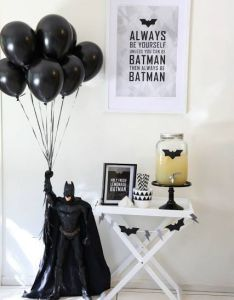 awesome batman birthday party ideas for kids also rh pinterest