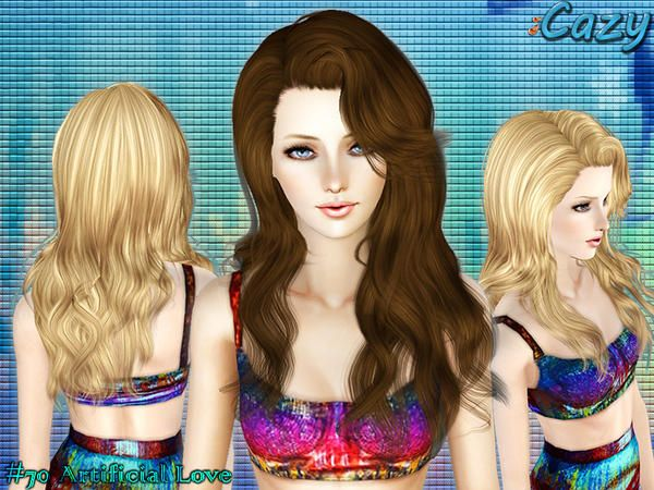 Super Long And Curly Hairstyle Newsea Hair Siren Forest