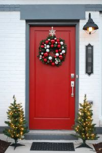 50 Best Christmas Door Decorations for 2018  | Christmas ...