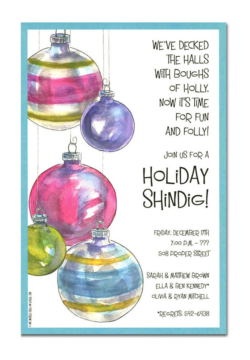 Christmas Open House Invitations Christmas Open House