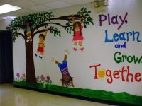 My mural on entrance wall of K-2 School photo fwall3.jpg ...