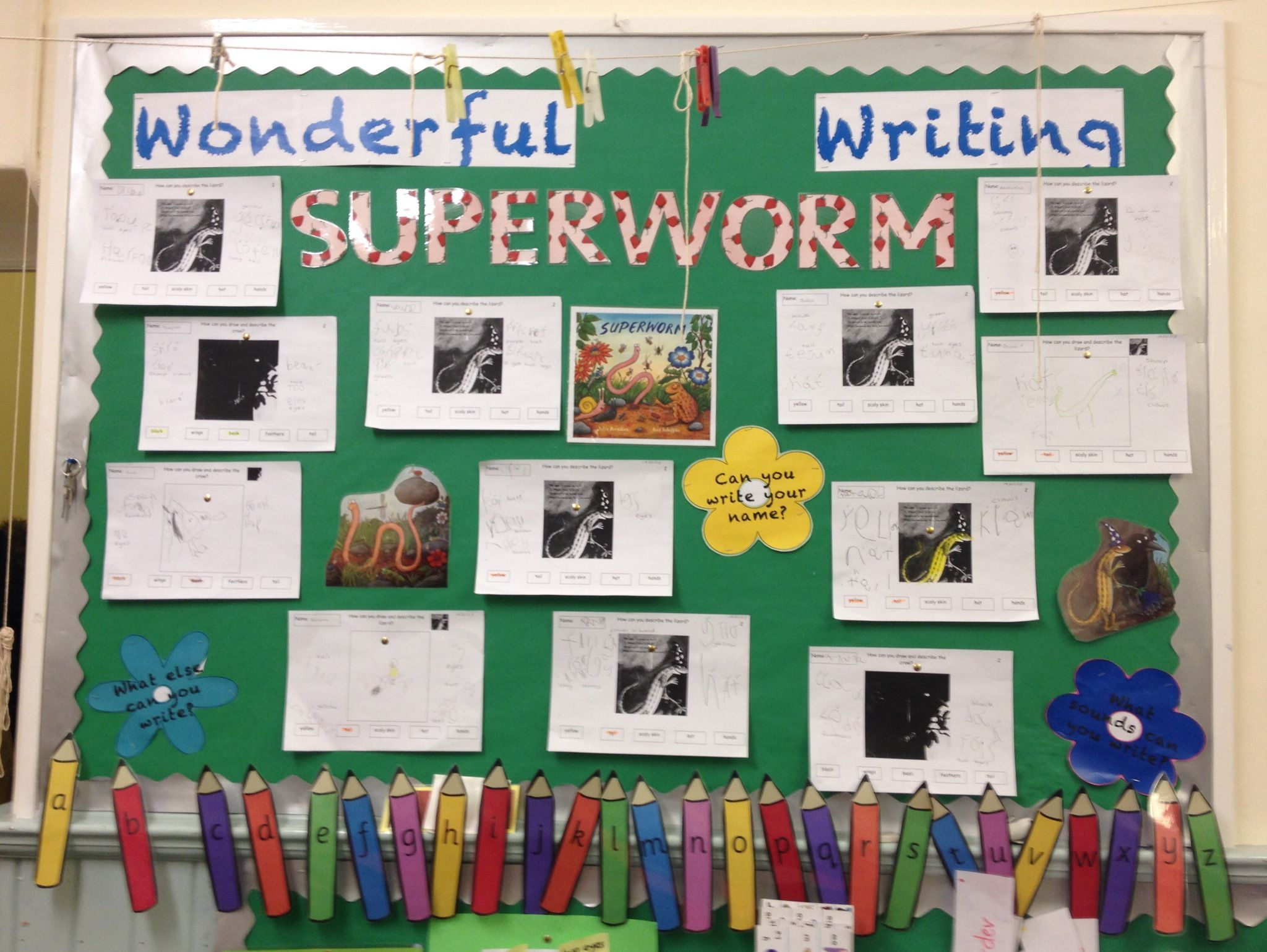 Images About Story Superworm