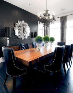 Black interior design also desain arsitek referensi rumah rh in pinterest