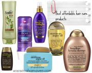 affordable hair care products