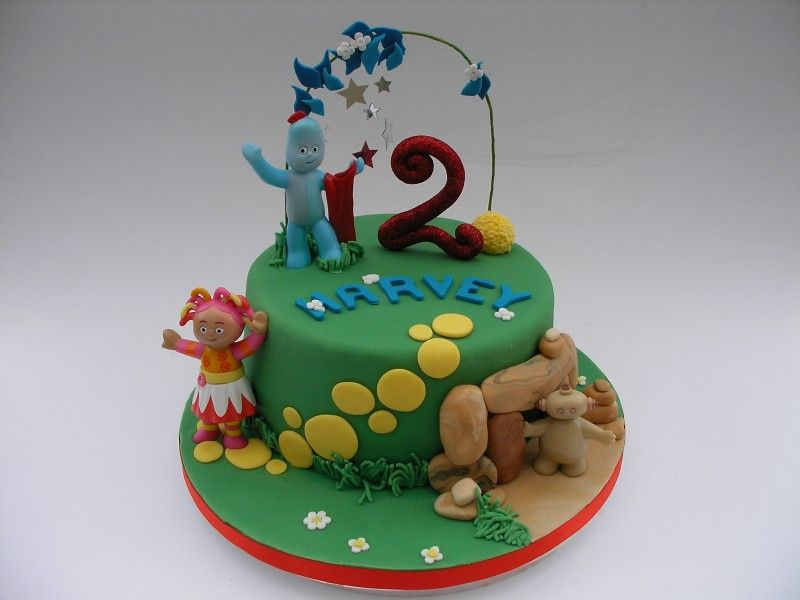 33 Best Images About In The Night Garden Cake Ideas On Pinterest