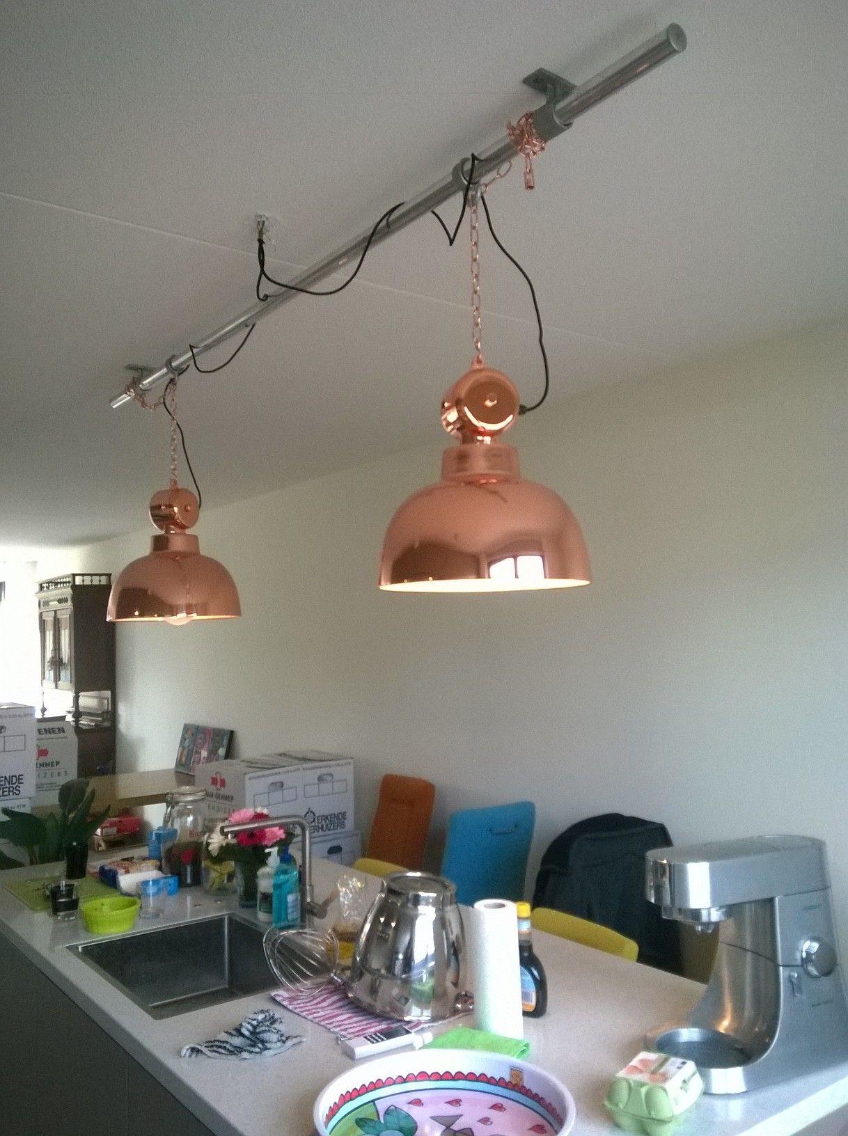 steigerbuis met lamp  Meubels reclameframes en