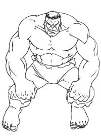 Angry Hulk Coloring Page | Fonts &printables | Pinterest ...