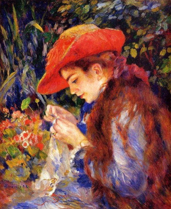 Pierre-Auguste-Renoir-Painting
