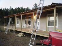 Mobile Home Front Porch Ideas