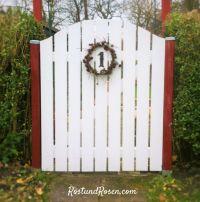 Gartentor selber bauen auf RostundRosen.com | Garten ...
