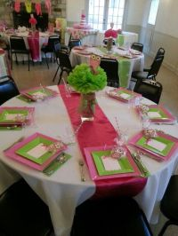 Baby shower table setting   Great Ideas   Pinterest   Baby ...