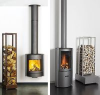 Modern Futuristic Wood Burning Stove Designs from Stuv ...