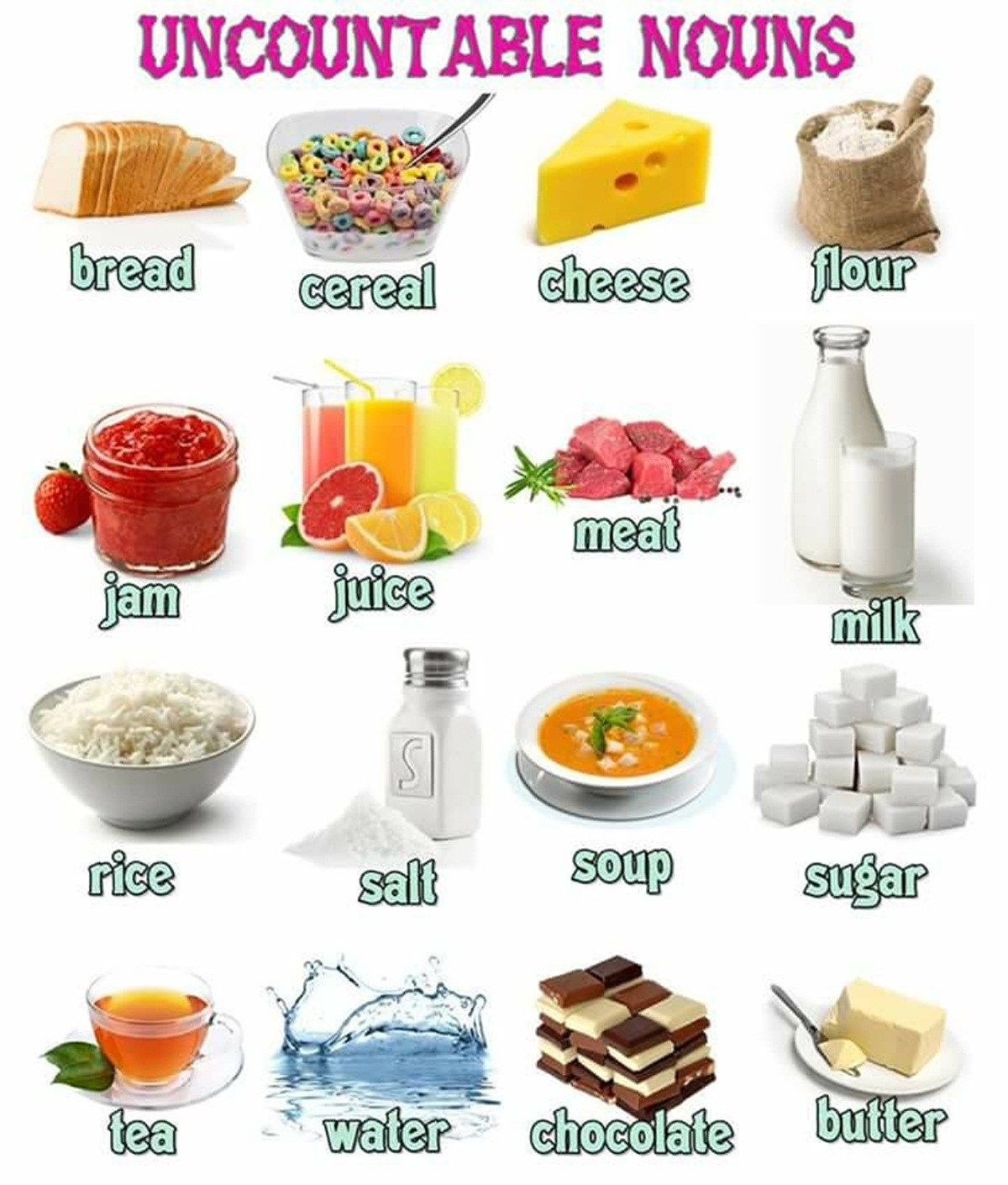 Food Amp Drinks Vocabulary In English 500 Items