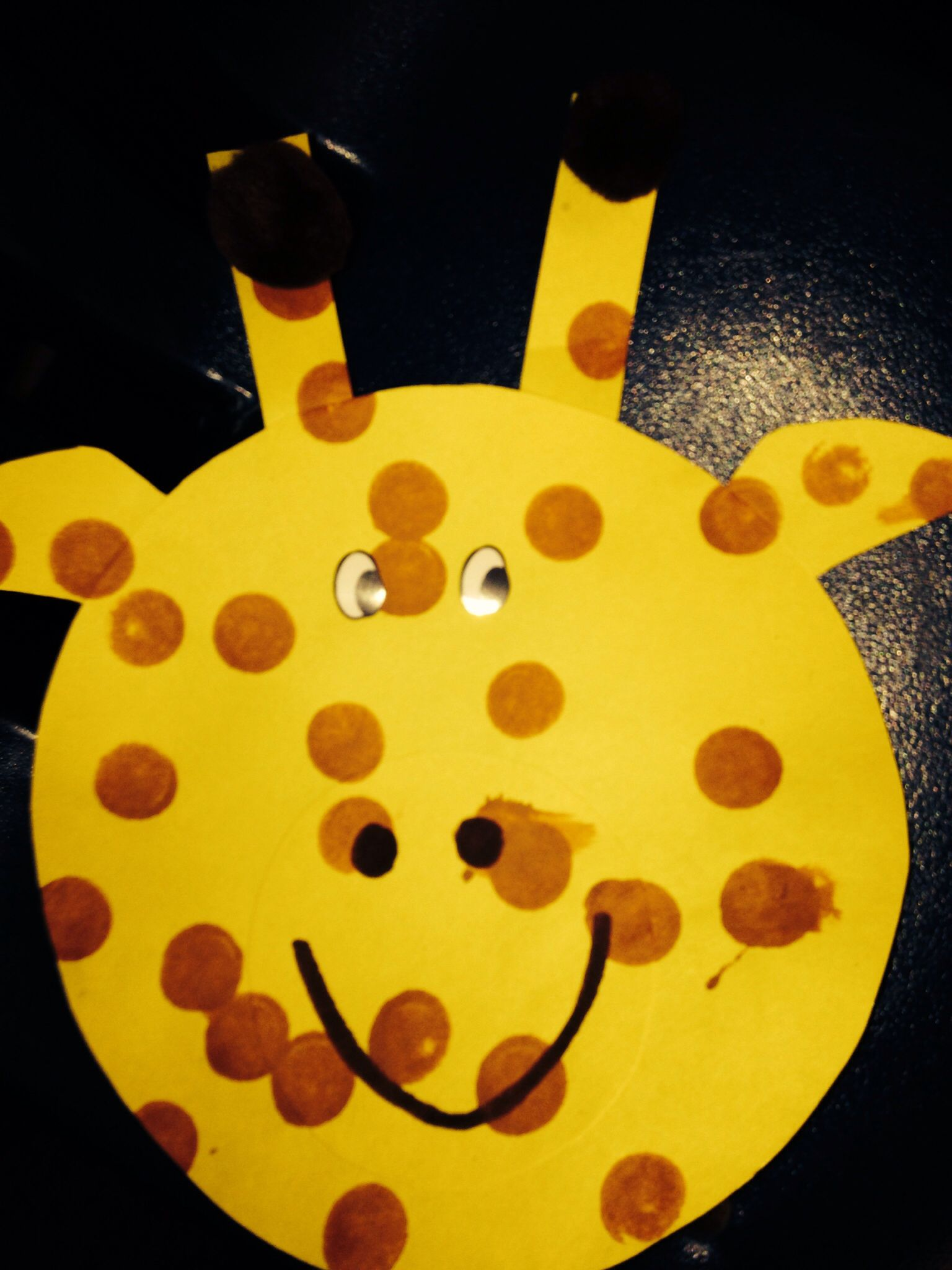G Is For Giraffe Craft We Did In My Class