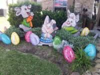 My easter yard art decorations. Www.muralsfauxnmore.com ...
