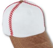 baseball stitches cap http