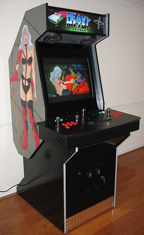 Mame Cabinet Plans X Arcade  Cabinets Matttroy