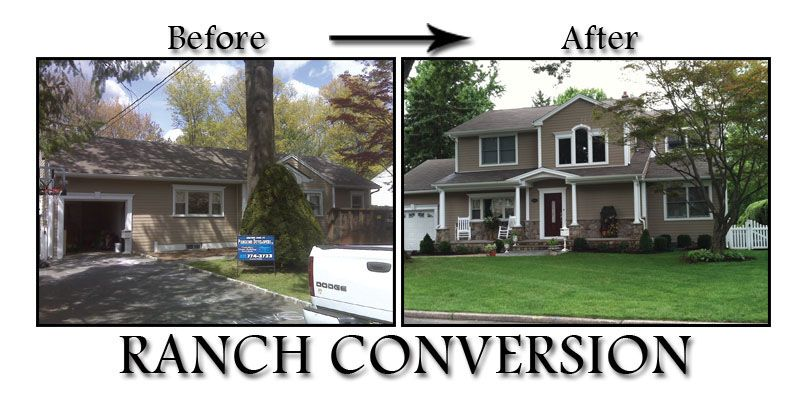Before And After Ranch Homes NJ Home Improvement Contractor Home