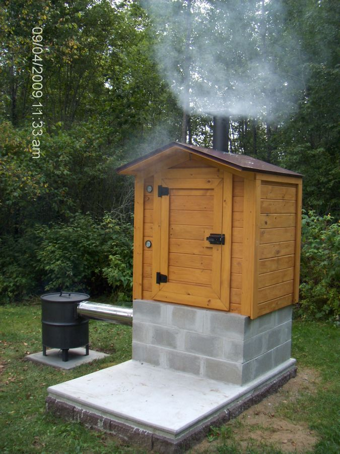 SMOKEHOUSE BUILDING PLANS Find House Plans Preserving Food
