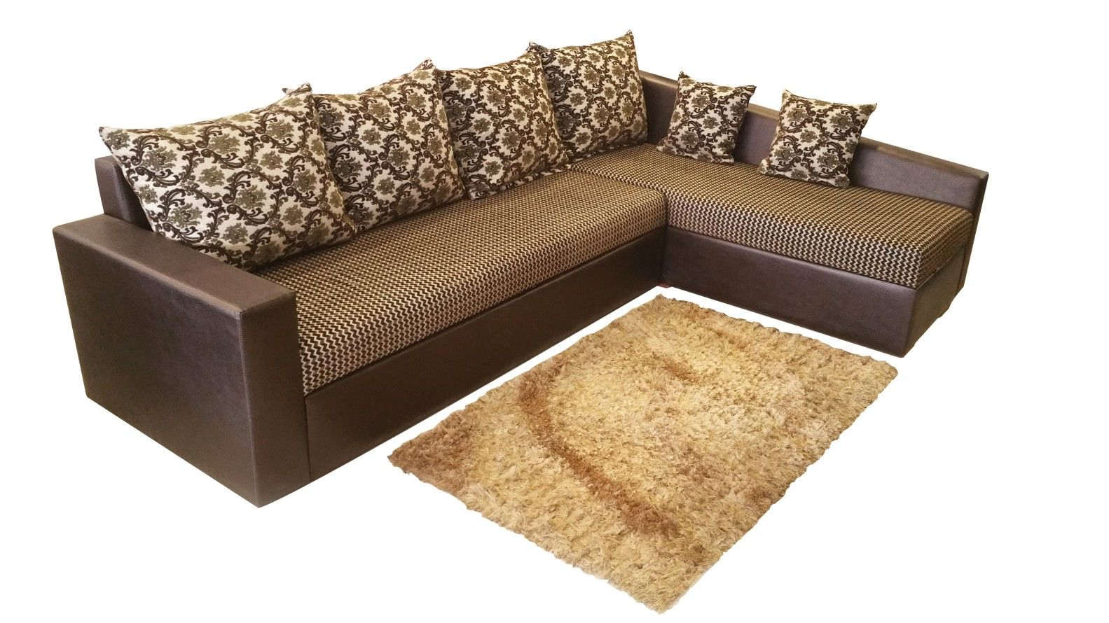 Sleeper Shaped Couch L