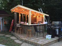Backyard Outdoor Pool Bar Ideas