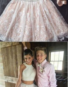 Two piece short prom dressesprom dresses for teenstwo also nice rh pinterest