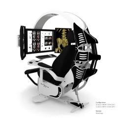 Gaming Chair With Monitors Cool Desk Chairs For Girls Emperor Is A Comfortable Immersive And Aesthetically