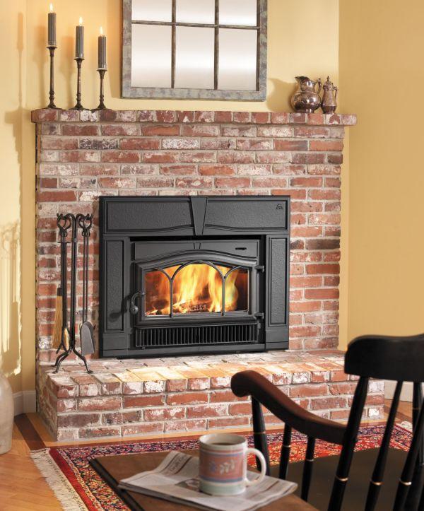 Wood-Burning Fireplace Inserts