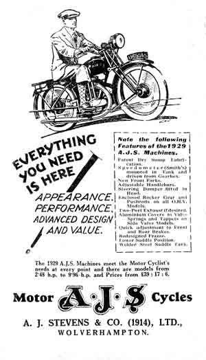 AJS Motorcycle Manuals, Handbooks, Instruction books