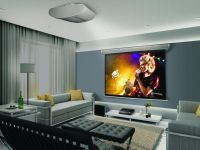 projector in living room | living room | Pinterest ...