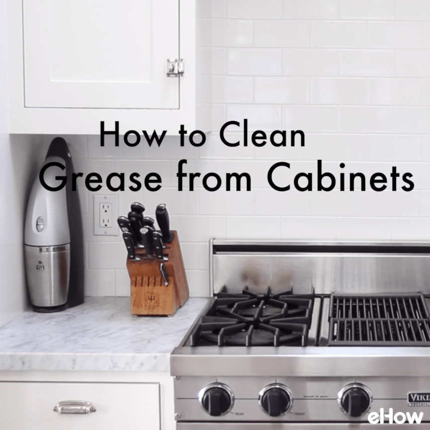 Easy to Make Homemade Kitchen Cabinet Cleaner  Homemade