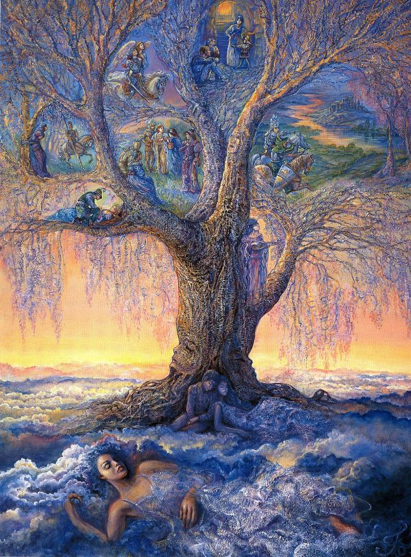 Josephine Wall Tree Art