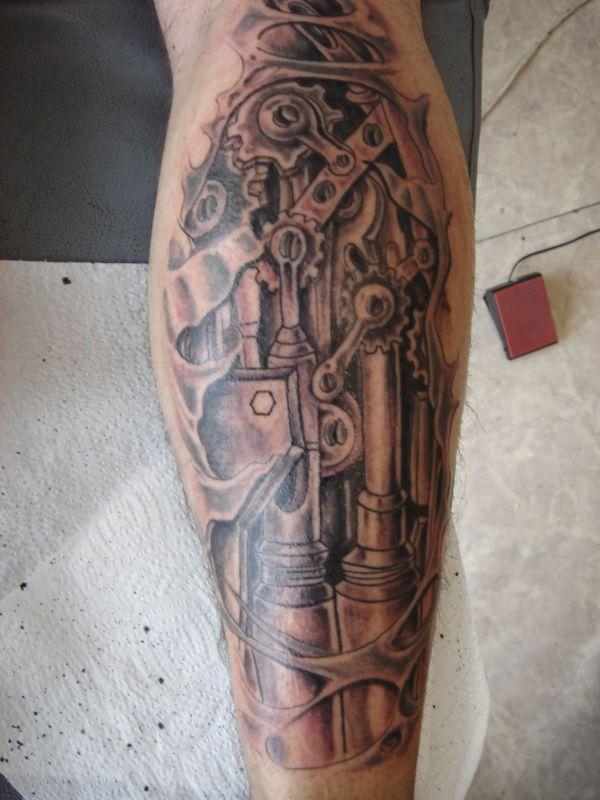 Steampunk Tattoo Tattoos Tatting